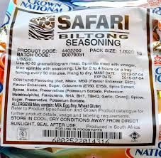 Crown biltong safari seasoning (allow 10 days for delivery)
