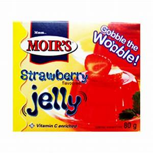 Moirs Strawberry Jelly